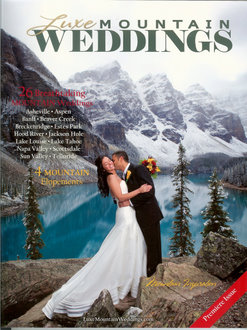 Colorado Wedding Company published in Luxe Mountain Weddings