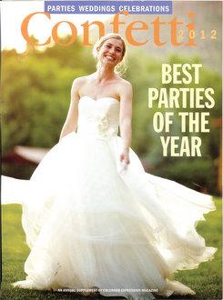 Colorado Wedding Company published in Confetti