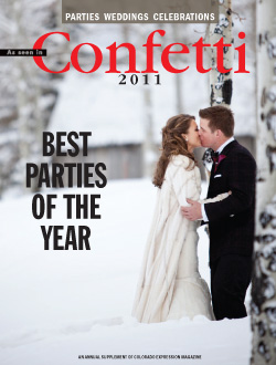 Colorado Wedding Company published in Confetti